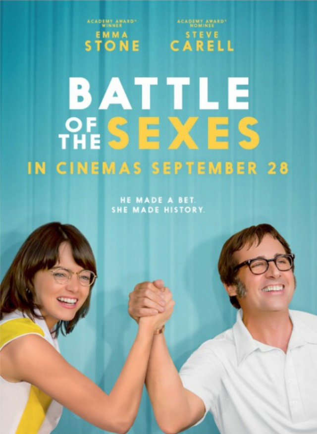 Battle of The Sexes Affiche