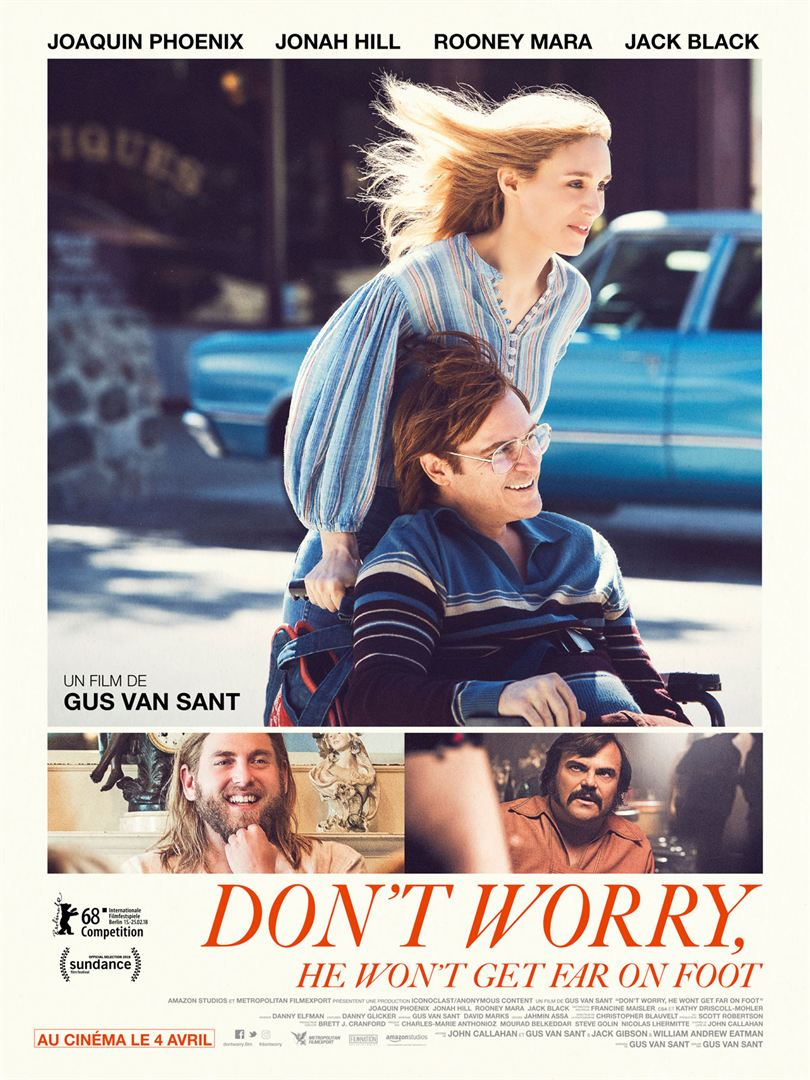 [Critique] Don't worry, he won't get far on foot : un biopic lumineux