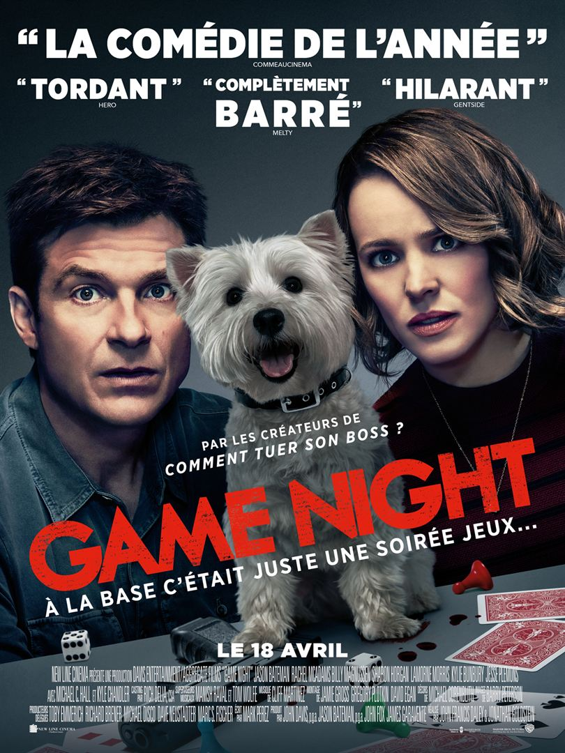 [Critique] Game Night : une comédie d'action sans prétention