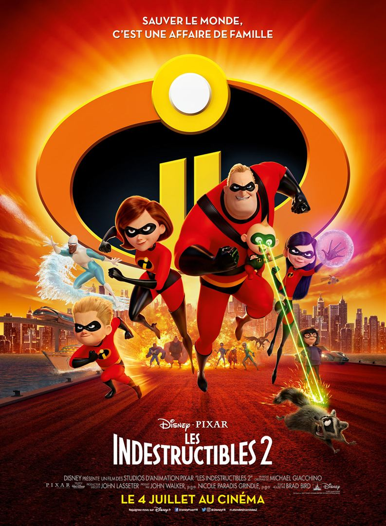 [Critique] Les Indestructibles 2 : animation virtuose et comédie efficace